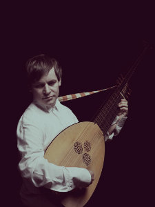 Petter with lute